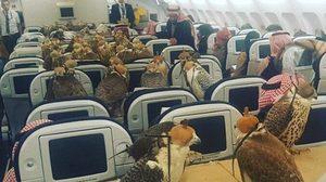 ฮือฮา! เจ้าชายซาอุฯ ซื้อตั๋วเครื่องบินเฟิร์สคลาสให้เหยี่ยว 80 ตัว