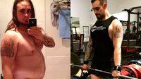 หนุ่มอ้วนวัย 27 เปลี่ยนตัวเองเป็นหนุ่มเฟิร์ม หลังถูกล้อเรื่องน้ำหนักนานกว่า 20 ปี