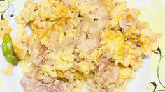 วิธีทำ แหนมผัดไข่ เมนูอร่อยที่ก้นครัว