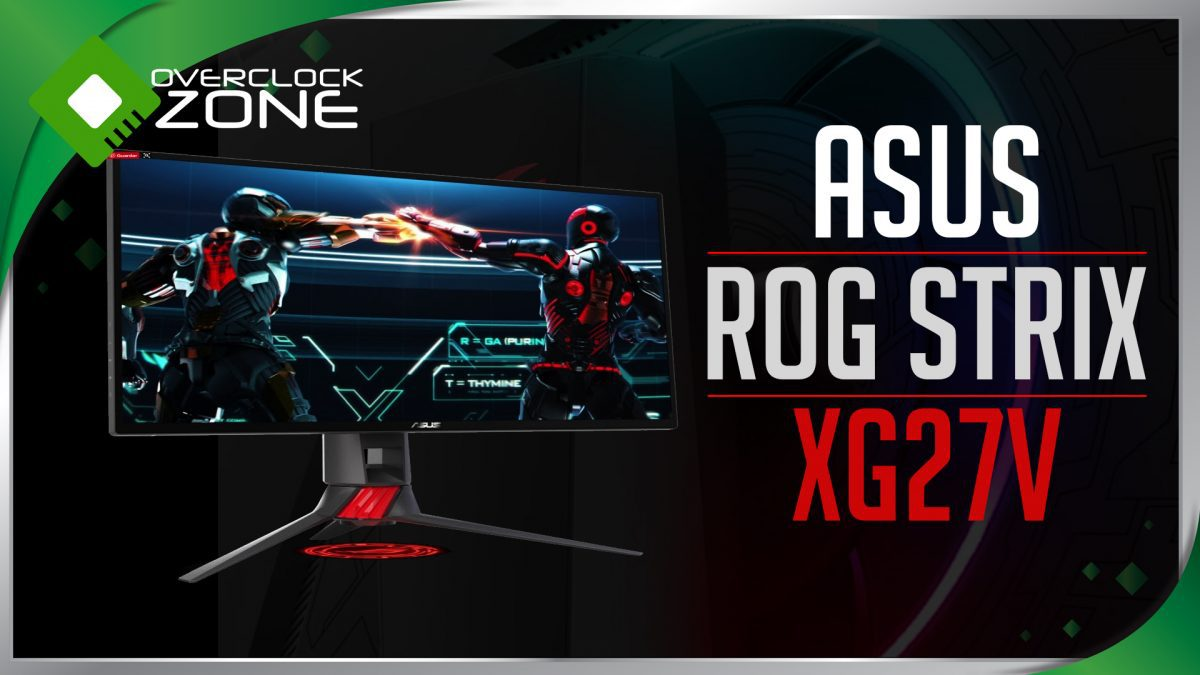 รีวิว ASUS ROG STRIX XG27V : 144Hz Curved Gaming Monitor