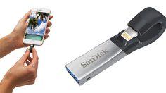 แซนดิสก์ เปิดตัว iXpand แฟลชไดร์ฟสำหรับเพิ่มความจุ iPhone, iPad