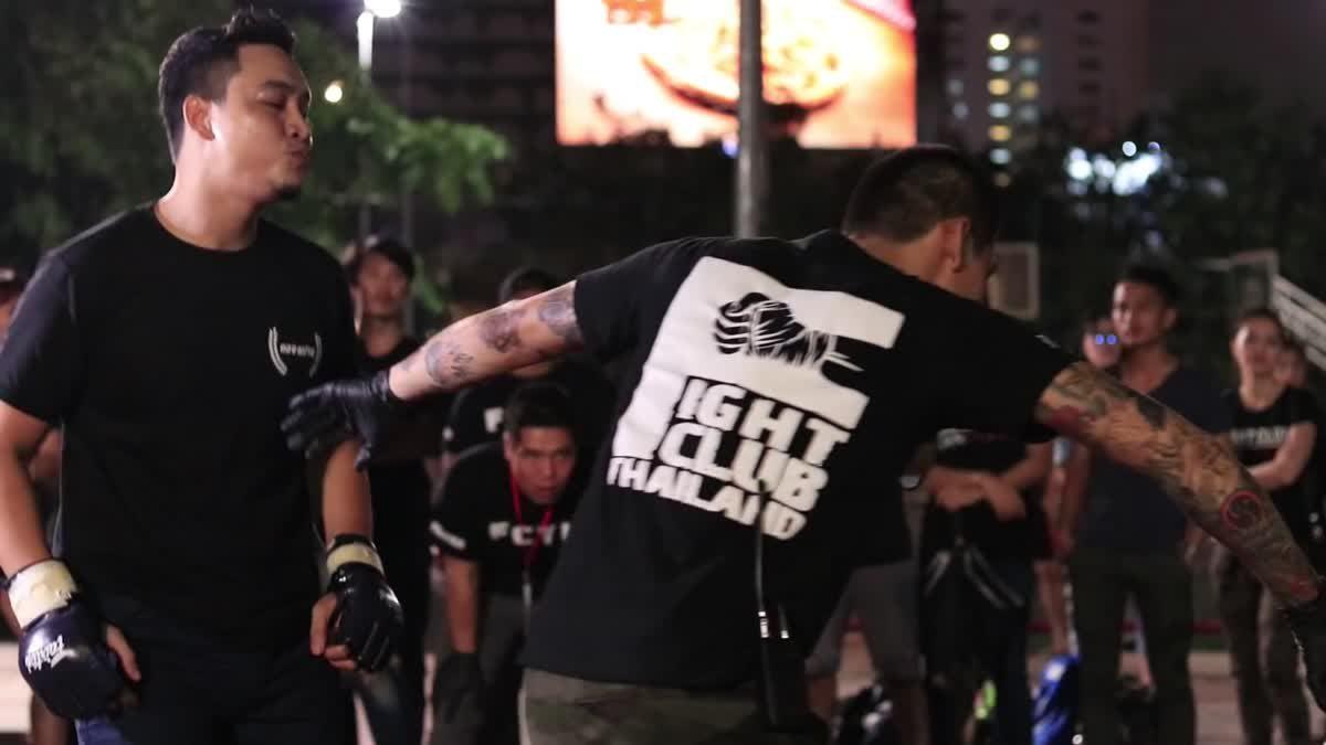 Fight Club Thailand ข้างถนนไว้อาลัย มาร์ค x แบงค์ คลองเปรม คู่ที่ 125