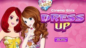 เกมส์แต่งตัว Cinema Girls Dress Up