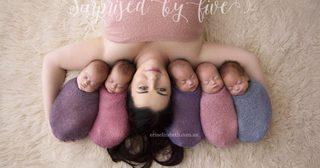 มหัศจรรย์แห่งชีวิต คุณแม่ลูกแฝด 5 ในครรภ์เดียว !