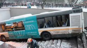 นาทีระทึก ! รถบัสตกอุโมงค์พุ่งชนคนในมอสโก เสียชีวิต 5 ศพ บาดเจ็บ 15 ราย