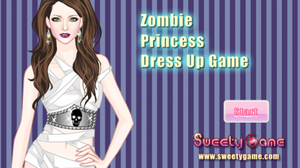 เกมส์แต่งตัว Zombie Princess