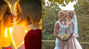 2 สาวสวยคอสเพลย์ จูงมือ 'แต่งงาน' กัน ความมุ้งมิ้งก็เกิดขึ้น!!
