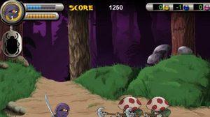 เกมส์ต่อสู้นินจา Foot Ninja II