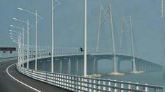 จีนสร้างสำเร็จ สะพานข้ามทะเลยาวที่สุดในโลก เชื่อม ฮ่องกง-จูไห่-มาเก๊า