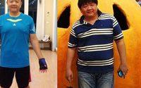 ของขวัญเกิดครบ 44 ปี ลดน้ำหนัก จากตัวจากคนไซส์ 3 XL มาไซส์ L