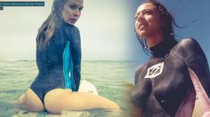 บอดี้เพ้นท์ชุด Wetsuits โต้คลื่นโชว์เสียวไส้สนั่นหาด!!