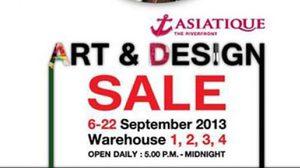 เทศกาลงาน Art & Design Sale 2013