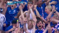 อินเนอร์มาเต็ม! คลิปไอซ์แลนด์ยิงประตูชัยวิฯสุดท้ายทำผู้บรรยายแทบเสียสติ