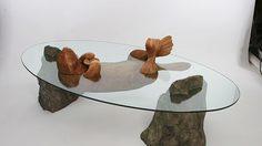 5 โต๊ะกระจก ดีไซน์เก๋ ไอเดียเจ๋ง จำลองสัตว์ปริ่มผิวน้ำ  3 มิติ