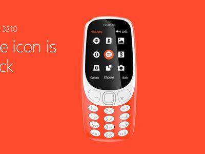 โนเกีย เปิดตัว Nokia 3310 ใหม่ ยังคงเอกลักษณ์ตามแบบต้นฉบับ