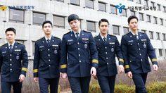 ตำรวจหล่อบอกด้วย! ชีวอน, ทงเฮ, ชางมิน แท็คทีมโปรโมทงานตำรวจเกาหลี