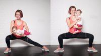 7 ท่าออกกำลังกาย สำหรับคุณแม่ลูกอ่อน