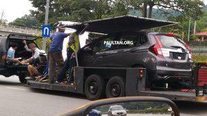 หลุดอีก! Honda Jazz facelift รุ่นปรับโฉม กับภาพ spyshot ในประเทศ มาเลเซีย