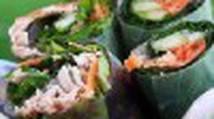 เมี่ยงสดไส้ทูน่า เมนูสุขภาพ กินเท่าไหร่ก็ไม่อ้วน