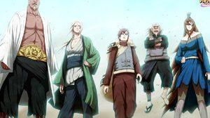 ไรคาเงะ-เอ รุ่นที่ 4 แห่งหมู่บ้านคุโมะงาคุเระ จาก NARUTO