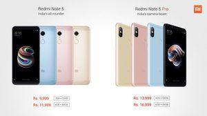 Xiaomi เปิดตัว 2 รุ่นใหม่ Redmi Note 5 และ 5 Pro ราคาเริ่มต้น 4,960 บาท