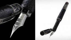 พรีเมี่ยมมาก ปากกาหมึกซึมนี้ใช้วัสดุเดียวกันกับที่ทำเรือยอร์ช!!