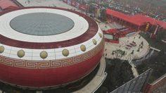 เจ๋ง! อาคารกลอง ที่ใหญ่ที่สุดในโลก