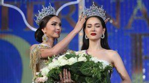 สวยจริงไม่ค้านสายตา โม จิรัชยา ค้วามงกุฏ Miss International Queen 2016