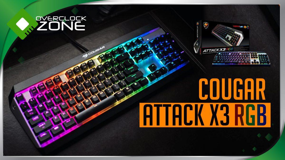 รีวิว COUGAR Attack X3 RGB : Mechanical Gaming Keyboard