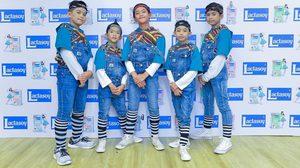 ฮิพฮอพ Awesome Junior คว้าแชมป์แลคตาซอย เต้นสนุก ส่งความสุข 5 บาท