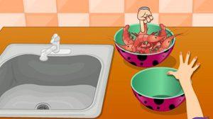 เกมส์ทำอาหาร เกมทำอาหารกุ้งผัดผงกระหรี่ อร่อยๆ