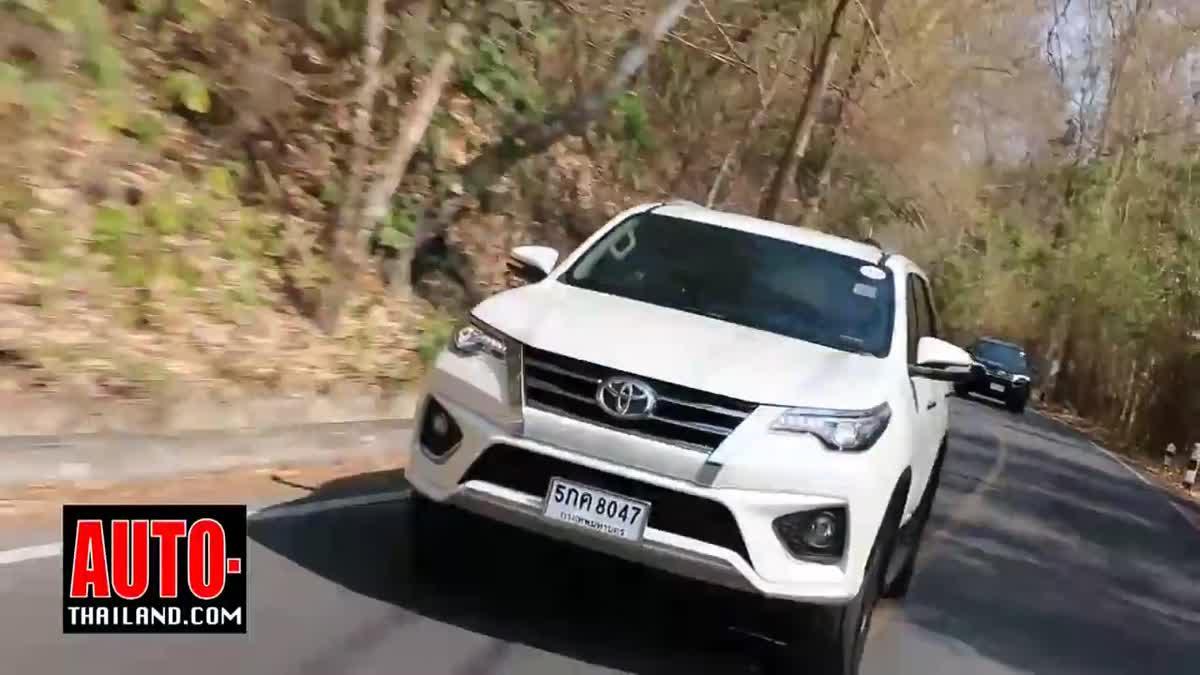 Testdrive New Toyota Fortuner TRD Sportivo 2016