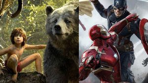 ไม่มีอะไรหยุดยั้ง Captain America: Civil War และ The Jungle Book บนบ็อกซ์ออฟฟิศ