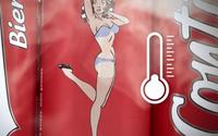 กระป๋องเบียร์สยิว รูปสาวเซ็กซี่ข้างกระป๋องถอดเสื้อผ้าได้ ถ้าแช่เย็น