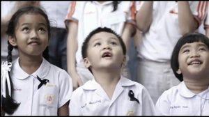 น้ำตาไหล 'พระราชาในนิทาน' ถ่ายทอดจากหัวใจของเด็กๆ