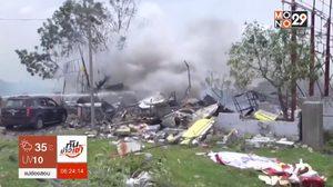 ไฟไหม้คลังเก็บพลุในอินเดีย คร่า 11 ชีวิต