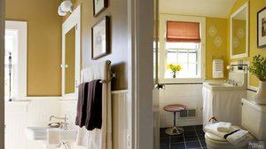 เติมความสดใส! 10 ไอเดีย แต่งห้องน้ำ ด้วยสีโทนเหลือง