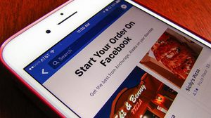 Facebook เตรียมเพิ่มฟีเจอร์ใหม่ Order Food บริการสั่งอาหารผ่านแอพฯ