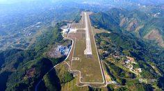 พี่จีนทำได้! สนามบินเห่อฉี สร้างตามแนวภูเขาสูงกว่า 600 เมตร