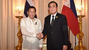 นายกฯ แถลงร่วมปธน.ฟิลิปปินส์ ทำ MOU ร่วมมือ 2 ประเทศ