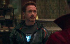 ผ้าคลุมมันลั่น!! โทนี สตาร์ก โดนผ้าคลุมตีที่ขา ในคลิปล่าสุด Avengers: Infinity War