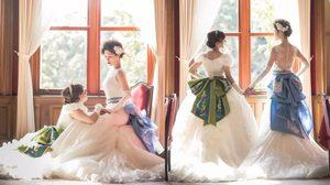 2 สาวเลสเบี้ยน จูงมือจัดงานแต่งงาน ธีมดิสนีย์ ราวกับโลดแล่นในความฝัน