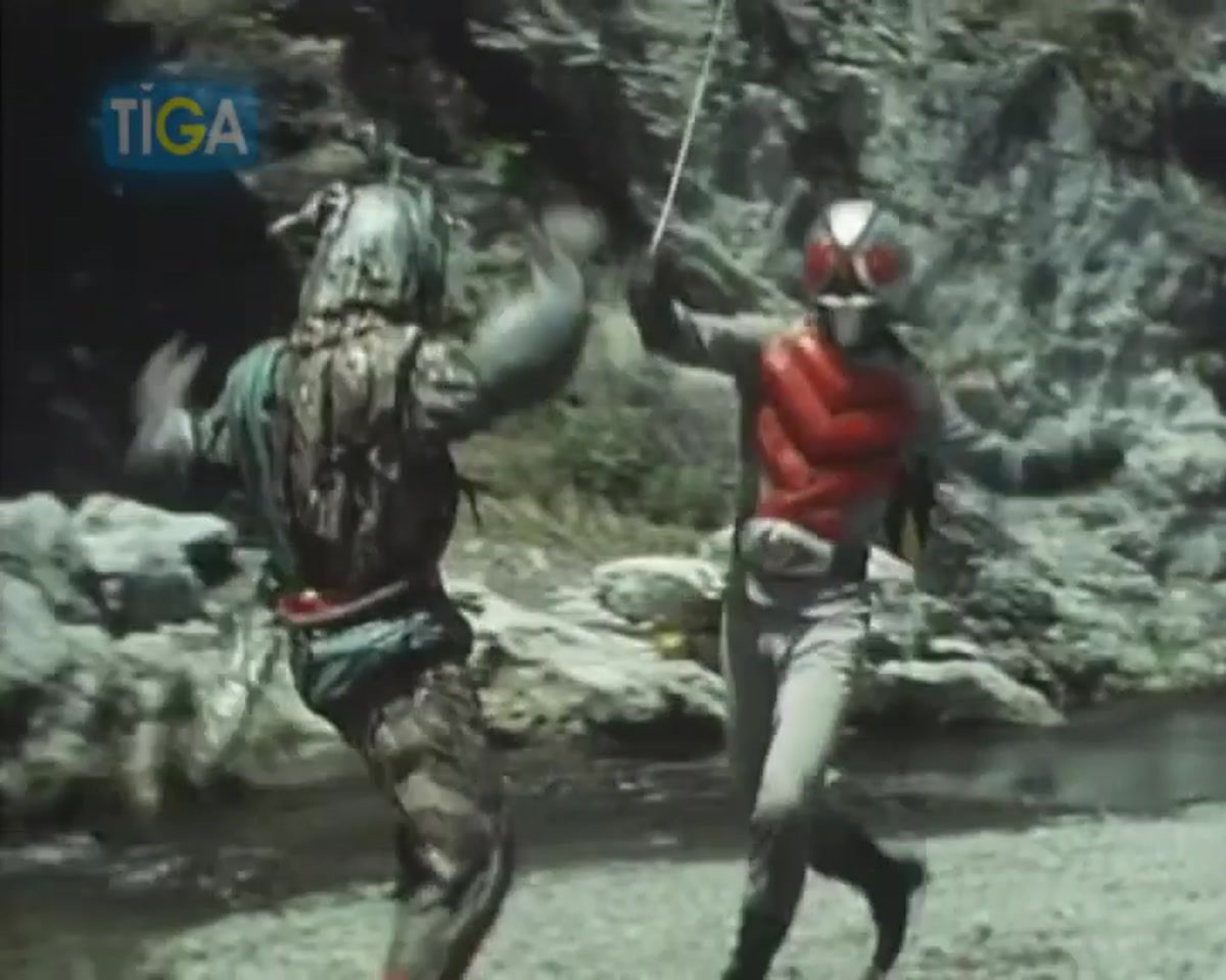 Masked Rider X ตอนที่ 17-2