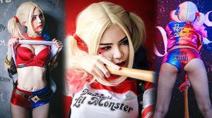 Harley Quinn เวอร์ชั่น น้องเกท เกษศิรินทร์ วายร้ายที่เซ็กซี่ที่สุดในโลก