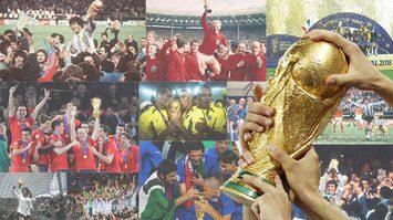 เปิดทำเนียบ แชมป์ฟุตบอลโลก (FIFA World Cup) ตั้งแต่อดีตจนถึงปัจจุบัน