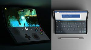 เผยภาพเรนเดอร์ Surface Phone มือถือหน้าจอคู่พับได้ และมี Gaming Mode