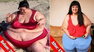 สาวใจเด็ดตัดสินใจ เลิกกับแฟน ที่ชอบชวนกิน จนน้ำหนักลดไปกว่า 100 กิโลกรัม