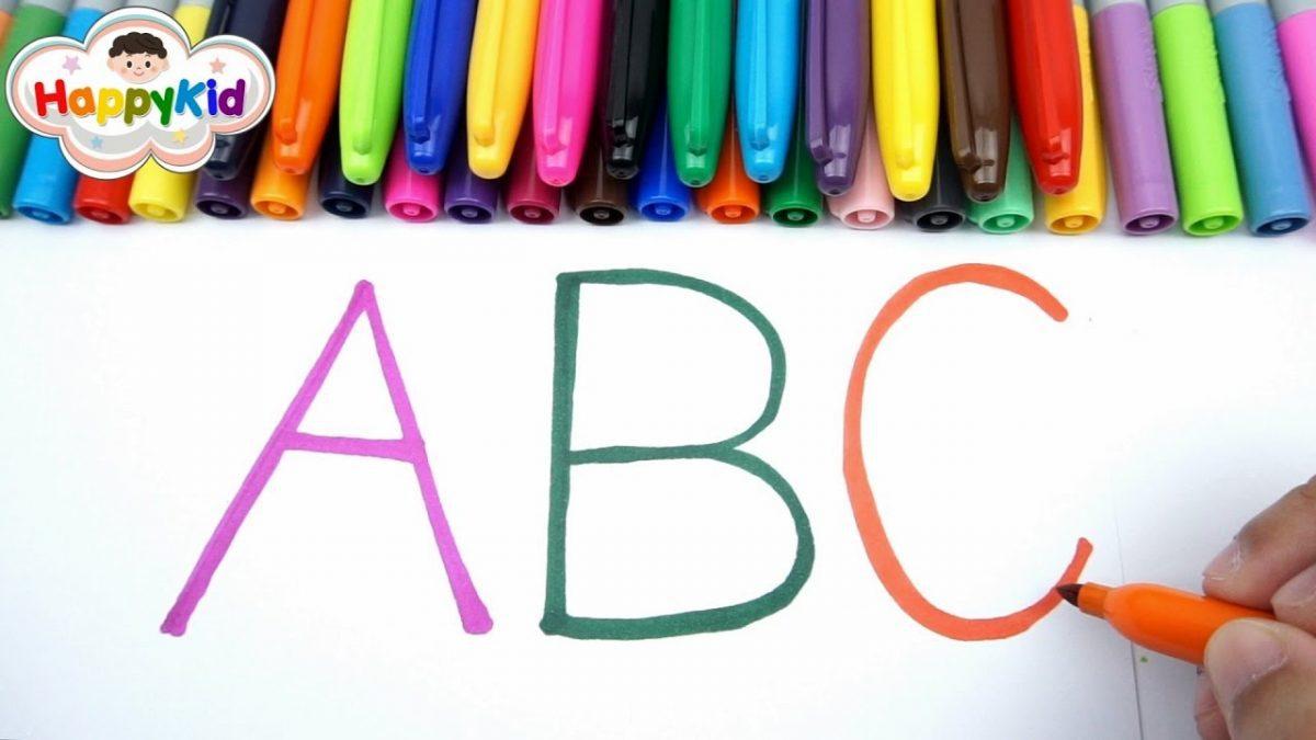 หัดอ่าน หัดเขียน ABC | เพลง ABC | เรียนรู้ A-Z | Learn The Alphabet