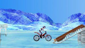 เกมส์รถวิบากขั้วโลกเหนือ Bike On Ice