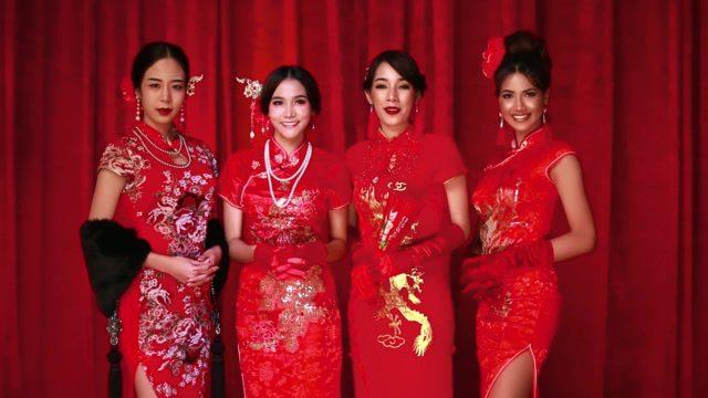 อีฟ, ปูเป้, นุชชี่, เฟื่องฟ้า สาวๆ Bunny Playboy อวยพร ต้อนรับวันตรุษจีน